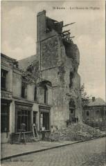 Anzin - Les Restes de l'Eglise - Anzin