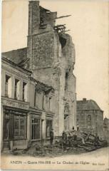 Anzin - Le Clocher de l'Eglise - Anzin