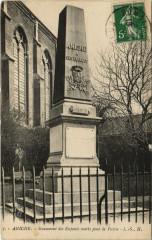 Aniche - Monument des Enfants morts pour la Patrie - Aniche