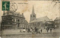 Iwuy - Place de l'Eglise - Iwuy
