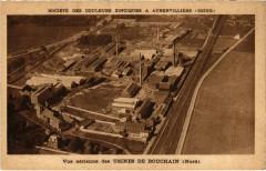 Bouchain - Vue aerienne des Usines - Bouchain