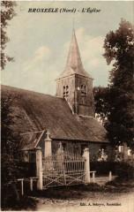 Broxéele - L'Eglise - Broxeele