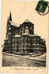 Caudry - L'Eglise - L'Abside - Caudry