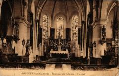 Brouckerque - Interieur de l'Eglise - L'Autel - Brouckerque