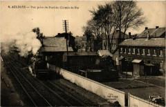 Aulnoye-Vue prise du Pont du Chemin de Fer - Hem