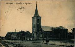 Raismes-L'Eglise et la Place - Raismes