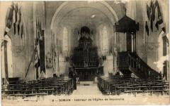 Somain - Interieur de l'Eglise de Sessevalle - Somain
