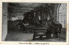 Usine de Maroilles - Atelier de corroirie - Maroilles