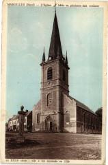 Maroilles - L'Eglise batie en plusieurs fois - Maroilles