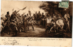 Musée de Versailles - Bataille de Bouvines gagnée par Philippe... - Bouvines