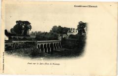 Conde-sur-L'Escaut - Pont sur le jars - Condé-sur-l'Escaut