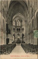 Vimoutiers Intérieur de l'Eglise - Vimoutiers