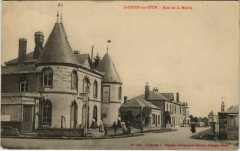 Saint-Ouen-sur-Iton Rue de la Mairie - Saint-Ouen-sur-Iton