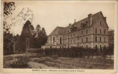 Perrou Infirmerie de la Communaute et Chapelle France - Perrou