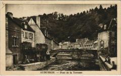 Aubusson Pont de la Terrasse France - Aubusson