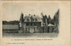 Environs de La Ferté Macé-Chateau de Saint-Maurice - La Ferté Macé