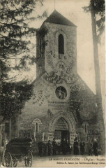 Le Menil-Gondouin - L'Eglise-Facade - Ménil-Gondouin