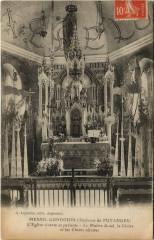 Menil-Gondouin - L'Eglise vivante et parlante-Le Maitre Autel - Ménil-Gondouin