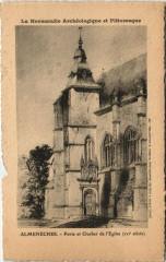 Almenéches-Porte et Clocher de l'Eglise - Almenêches