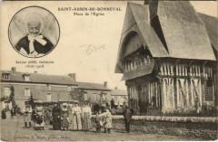 Saint-Aubin-de-Bonneval Place de l'Eglise, Centenaire - Saint-Aubin-de-Bonneval
