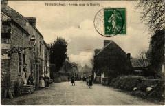Passais Orne - Arrivee route de Mantilly - Mantilly