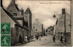 CetOn Orne - Grande Rue et Mairie - Ceton