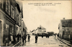Saint-Germain-de-la-Coudre Carrefour routes du Theil et de La Ferte - Saint-Germain-de-la-Coudre
