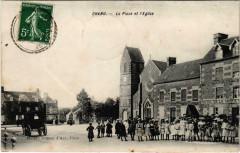 Chanu - La Place et l'Eglise - Chanu