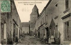 Saint-Germain-De-La-Coudre Rue de I'Eglise - Saint-Germain-de-la-Coudre