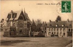 L'Aigle - Place du Marché aux Chapelles - L'Aigle