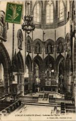 Lonlay-l'Abbaye (Orne) - Intérieur de l'Eglise - Lonlay-l'Abbaye
