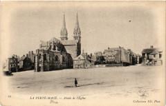 La Ferté-Macé - Abside de l'Eglise - La Ferté Macé
