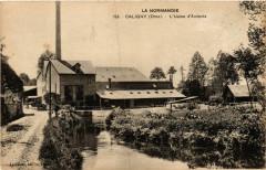 Caligny - L'Usine d'Amiante - Caligny