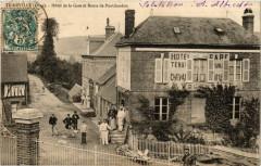 Ticheville - Hotel de la Gare et Route de Pontchardon - Ticheville