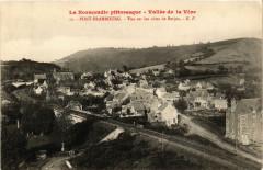 Vallée de la Vére- Pont-Erambourg - Vue sur les cotes de Berjou - Berjou
