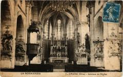 Chanu (Orne) - Intérieur de l'Eglise - Chanu