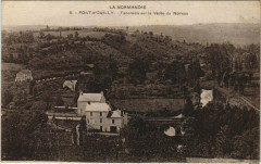 Pont-d'Ouilly - Panorama sur la Vallée du Noireau - Pont-d'Ouilly
