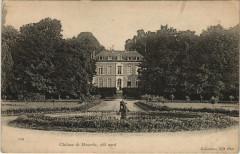 Chateau de Manerbe coté Nord - Manerbe