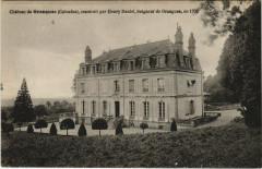 Chateau de Grangues construit par Henry Daniel - Grangues