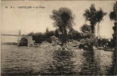 Castillon-Plage - La Plage - Castillon