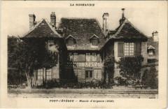 Pont-l'Eveque - Manoir d'Argence - Pont-l'Évêque