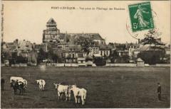 Pont-l'Eveque - Vue prise de l'Herbage des Hunieres - Pont-l'Évêque