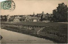 Touques - Vue prise du Pont - Touques