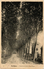 Aubigny - Boulevard de la République - Aubigny
