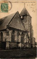 Bonneville-la-Louvet - L'Eglise prise de la Cour Casel - Bonneville-la-Louvet