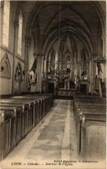 Lison - Calvados - Intérieur de l'Eglise - Lison