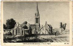 Vierville-sur-Mer - Vue sur l'Eglise - Vierville-sur-Mer