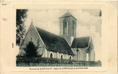 Environs de Saint-Sylvain - Eglise de Fierville - la Campagne - Saint-Sylvain