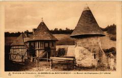 Environs de Vimoutiers - Saint-Germain-de-Montgommery-Le Manoir de... - Le Manoir