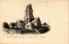 Environs d'Arromanche-les-Bains - L'Eglise de Crepon - Crépon